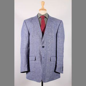 Jos. A. Bank 46L Blue Sport Coat G238